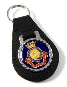 8th Canadian Hussars (Princess Louise's) Canadian Army Leather Key Fob