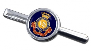 8th Canadian Hussars (Princess Louise's) Canadian Army Round Tie Clip