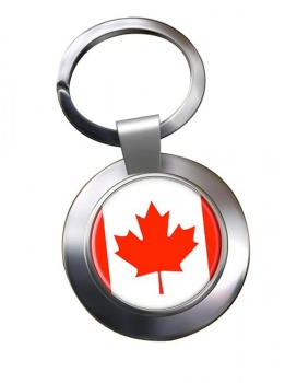 Canada Metal Key Ring