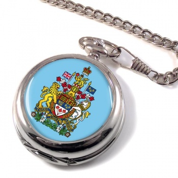 Canada Coat of Arms Pocket Watch