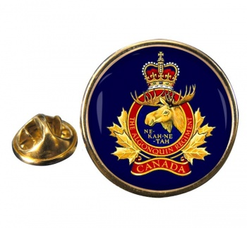 Algonquin Regiment (Canadian Army) Round Pin Badge