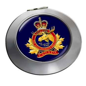 Algonquin Regiment (Canadian Army) Chrome Mirror