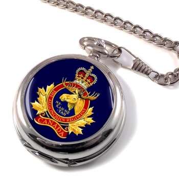Algonquin Regiment (Canadian Army) Pocket Watch