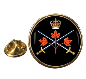 Canadian Army Round Pin Badge