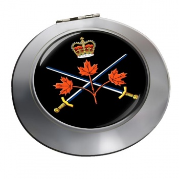 Canadian Army Chrome Mirror