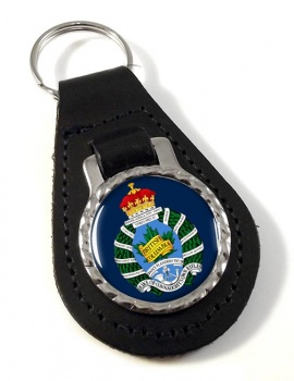 British Columbia Regiment (Duke of Connaught's Own) Canadian Army Leather Key Fob
