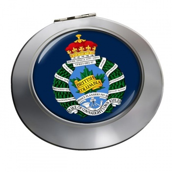 British Columbia Regiment (Duke of Connaught's Own) Canadian ArmyChrome Mirror