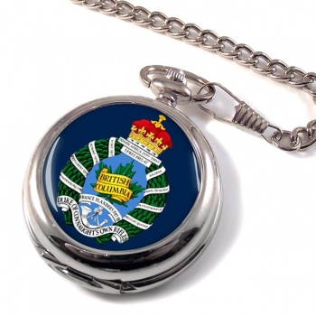 British Columbia Regiment (Duke of Connaught's Own) Canadian ArmyPocket Watch