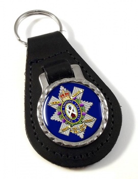 The Black Watch (Royal Highland Regiment) of Canada Leather Key Fob