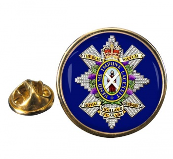 The Black Watch (Royal Highland Regiment) of Canada Round Pin Badge