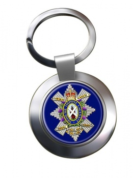 The Black Watch (Royal Highland Regiment) of Canada Chrome Key Ring