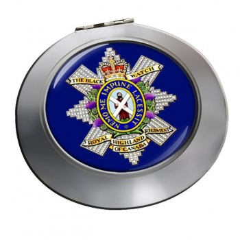 The Black Watch (Royal Highland Regiment) of Canada Chrome Mirror