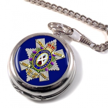 The Black Watch (Royal Highland Regiment) of Canada Pocket Watch