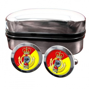Royal Canadian Armoured Corps Round Cufflinks