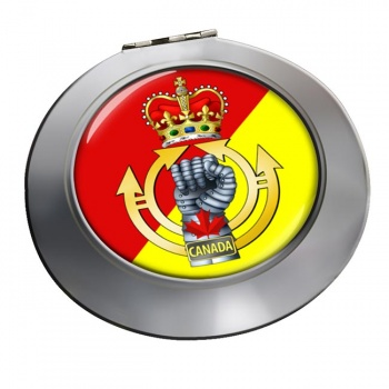 Royal Canadian Armoured Corps Chrome Mirror