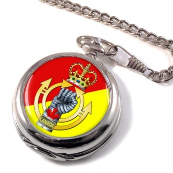 Royal Canadian Armoured Corps Pocket Watch