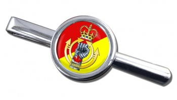 Royal Canadian Armoured Corps Round Tie Clip