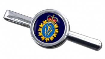 Communications and Electronics Branch (Canadian Army) Round Tie Clip