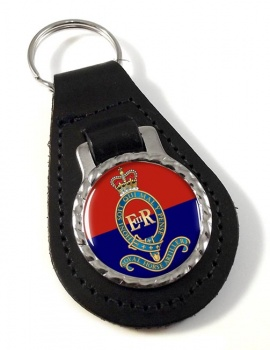 Royal Canadian Horse Artillery Leather Key Fob