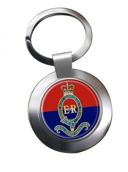 Royal Canadian Horse Artillery Chrome Key Ring