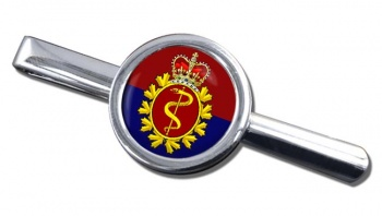 Royal Canadian Medical Service Round Tie Clip