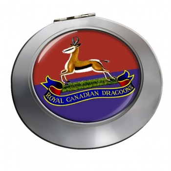 Royal Canadian Dragoons Chrome Mirror