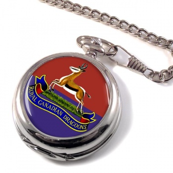 Royal Canadian Dragoons Pocket Watch