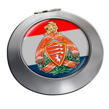 Essex and Kent Scottish (Canadian Army) Chrome Mirror