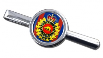 Engineer Branch (Canadian Army) Round Tie Clip