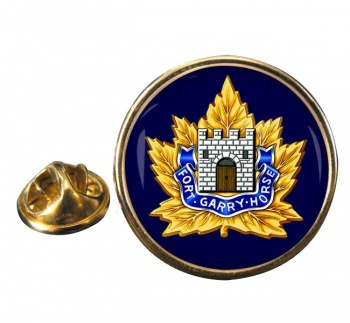 Fort Garry Horse (Canadian Army) Round Pin Badge