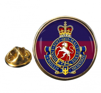 Governor General's Horse Guards (Canadian Army) Round Pin Badge