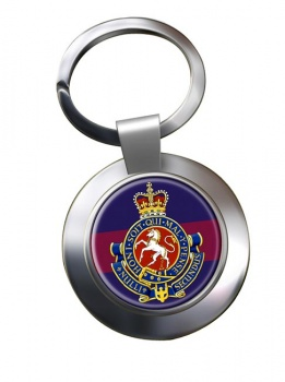 Governor General's Horse Guards (Canadian Army) Chrome Key Ring