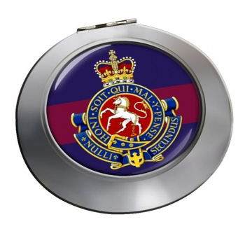 Governor General's Horse Guards (Canadian Army) Chrome Mirror