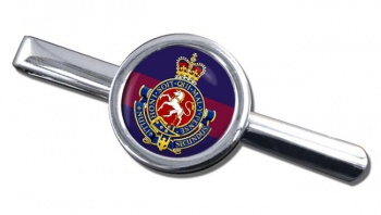 Governor General's Horse Guards (Canadian Army) Round Tie Clip