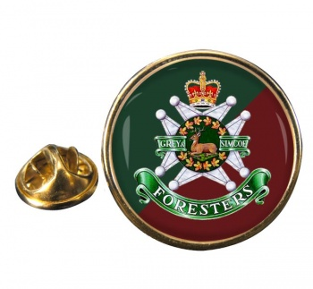 Grey and Simcoe Foresters (Canadian Army) Round Pin Badge