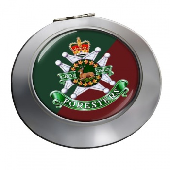 Grey and Simcoe Foresters (Canadian Army) Chrome Mirror