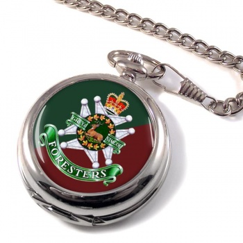 Grey and Simcoe Foresters (Canadian Army) Pocket Watch