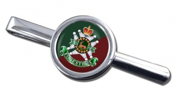Grey and Simcoe Foresters (Canadian Army) Round Tie Clip