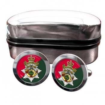 Halifax Rifles (Canadian Army) Round Cufflinks