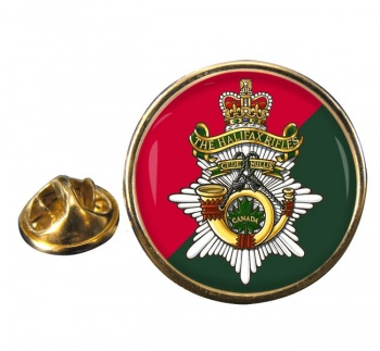 Halifax Rifles (Canadian Army) Round Pin Badge