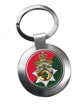 Halifax Rifles (Canadian Army) Chrome Key Ring
