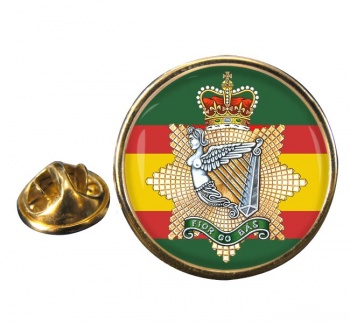 Irish Regiment of Canada (Canadian Army) Round Pin Badge