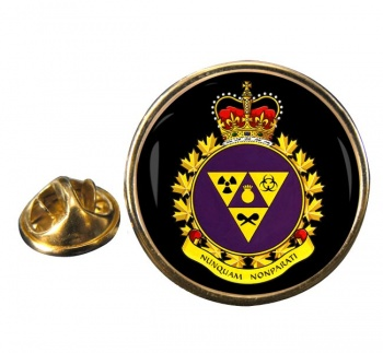Canadian Joint Incident Response Unit (Canadian Army) Round Pin Badge