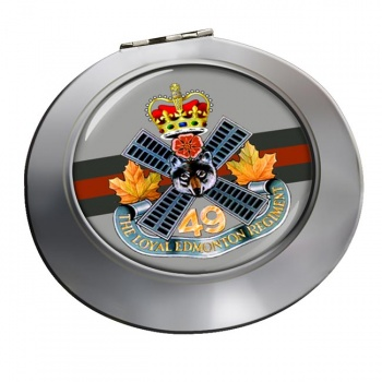 Loyal Edmonton Regiment (4th Battalion Princess Patricia's Canadian Light Infantry) Chrome Mirror