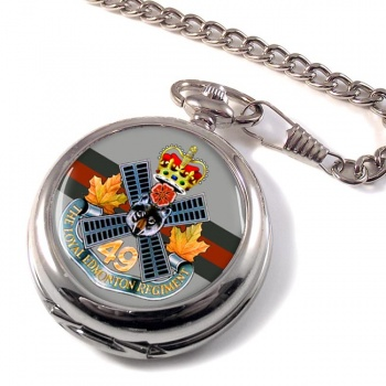 Loyal Edmonton Regiment (4th Battalion Princess Patricia's Canadian Light Infantry) Pocket Watch