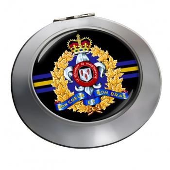 Le Ré�giment de Maisonneuve (Canadian Army) Chrome Mirror