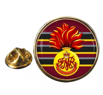 Les Fusiliers Mont-Royal (Canadian Army) Round Pin Badge
