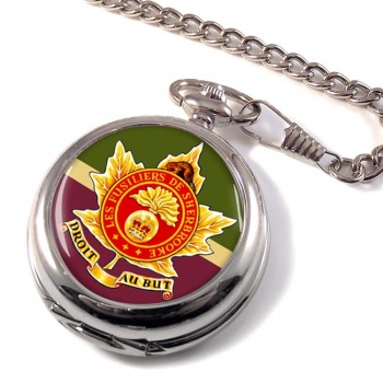 Les Fusiliers de Sherbrooke (Canadian Army) Pocket Watch