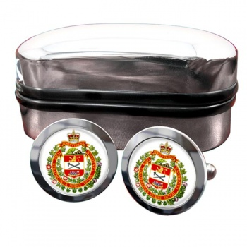 Lord Strathcona's Horse (Royal Canadians) Round Cufflinks