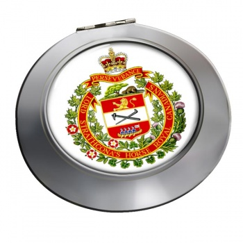 Lord Strathcona's Horse (Royal Canadians) Chrome Mirror